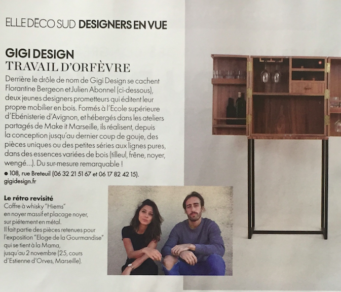 elle decoration gigi design ebemiste mobilier sur mesure marseille