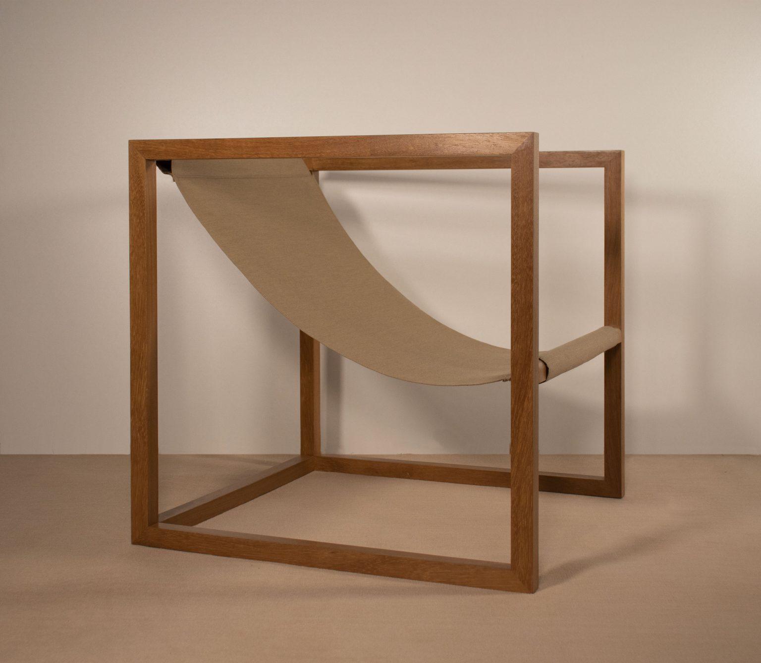 fauteuil extérieur en bois designer Gigi Design